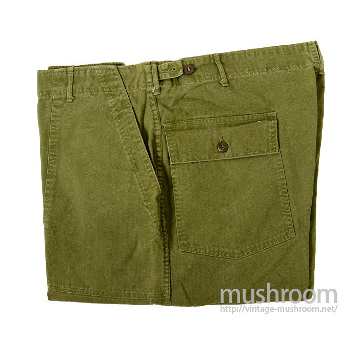 U.S.MILITARY HBT UTILITY TROUSER( BIG SIZE )