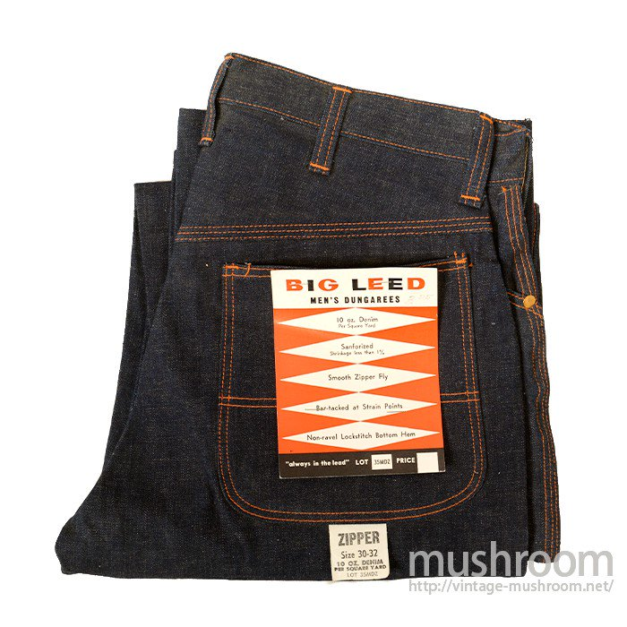 BIG LEED DENIM PAINTER PANTS( DEADSTOCK )