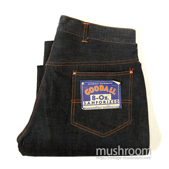 GOODALL DENIM  WORK PANTS( DEADSTOCK )