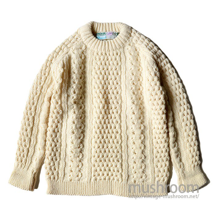 JOHN MOLLOY FISHERMAN SWEATER