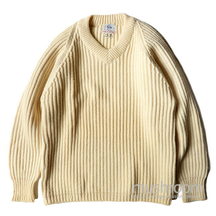 ALLEN SOLLY-LONDON V-NECK SWEATER