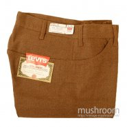 LEVI'S 516-9824 STA-PREST TAPERED PANTS( DEADSTOCK )