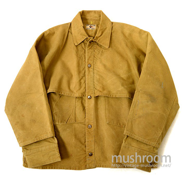 CAN'T BUST'EM CANVAS LOGER JACKET