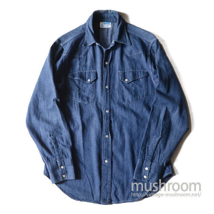 MW 101 DENIM WESTERN SHIRT