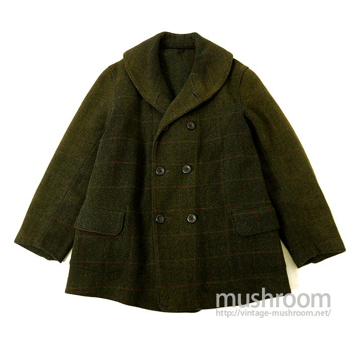 PATRICK SHAWLCOLLER PLAID MACKINAW COAT