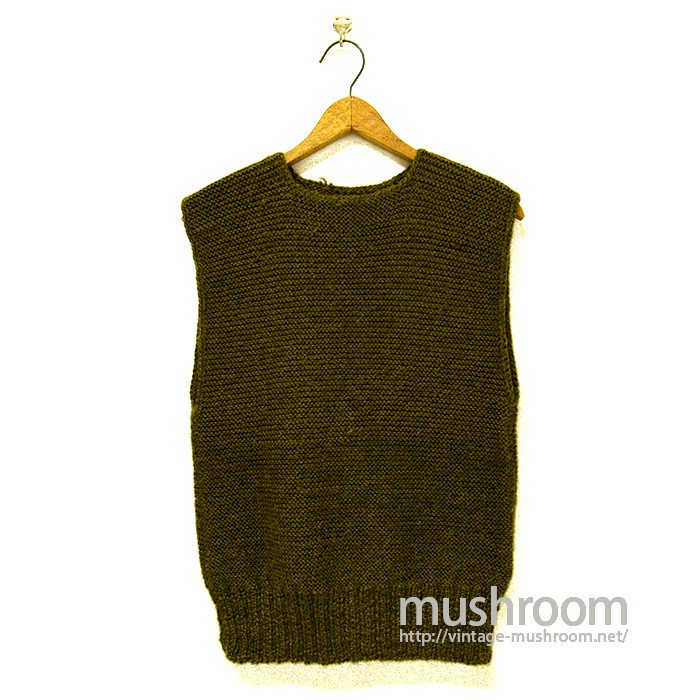WW1 AMERICAN RED CROSS KNIT VEST