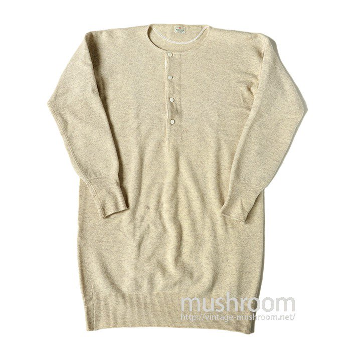 ABERCROMBIE&FITCH WOOL UNDERSHIRT