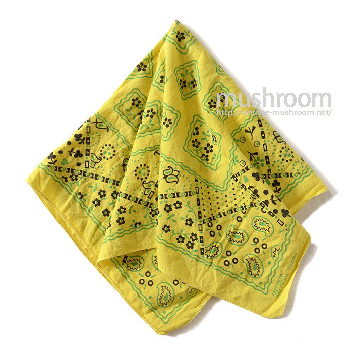 OLD COOKIE PATTERN BANDANA( MINT )