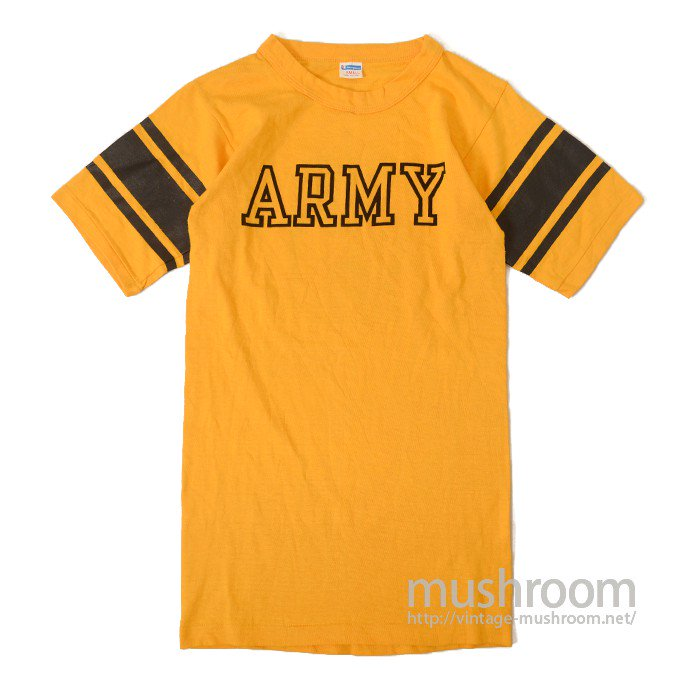 CHAMPION ARMY FOOTBALL T-SHIRT( DEADSTOCK )