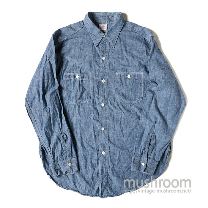 COAST-WIDE CHAMBRAY SHIRT( MINT )