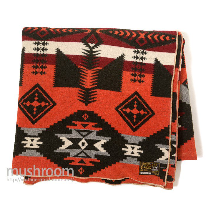 OREGON CITY NATIVE-PATTERN BLANKET