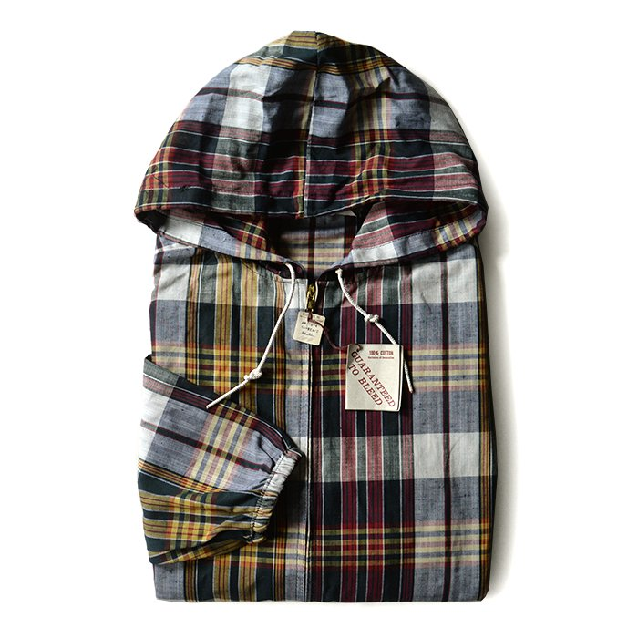 SPORTSWEAR MADRAS COTTON PARKA( DEADSTOCK )