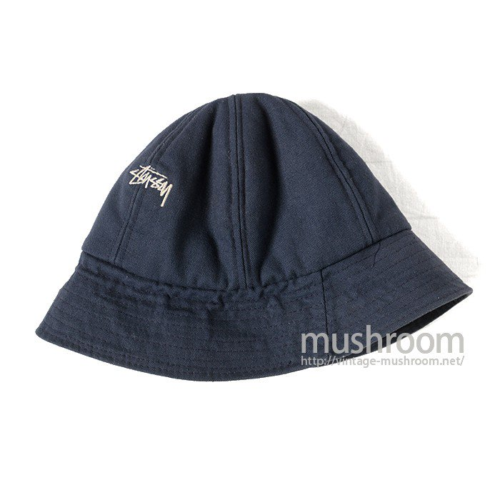 OLD STUSSY NAVY CANVAS GAME HAT