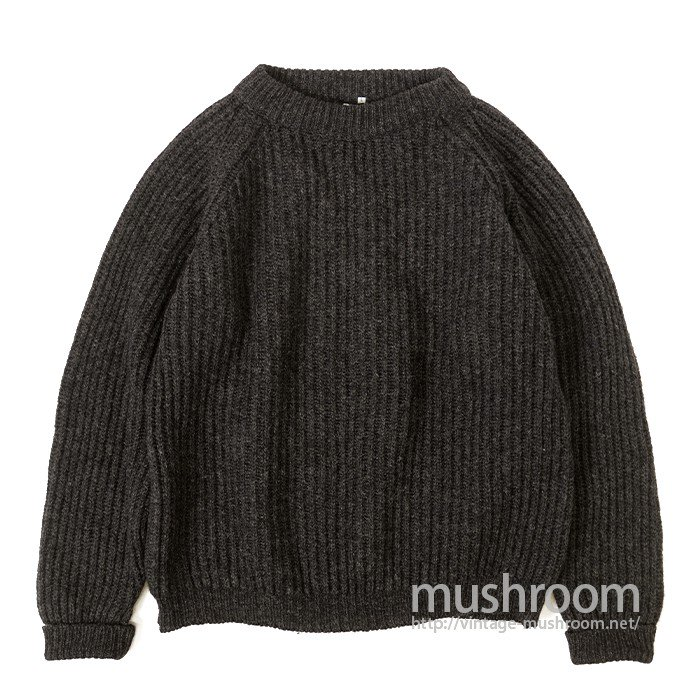 PETER STORM OILED WOOL SWEATER( MINT )