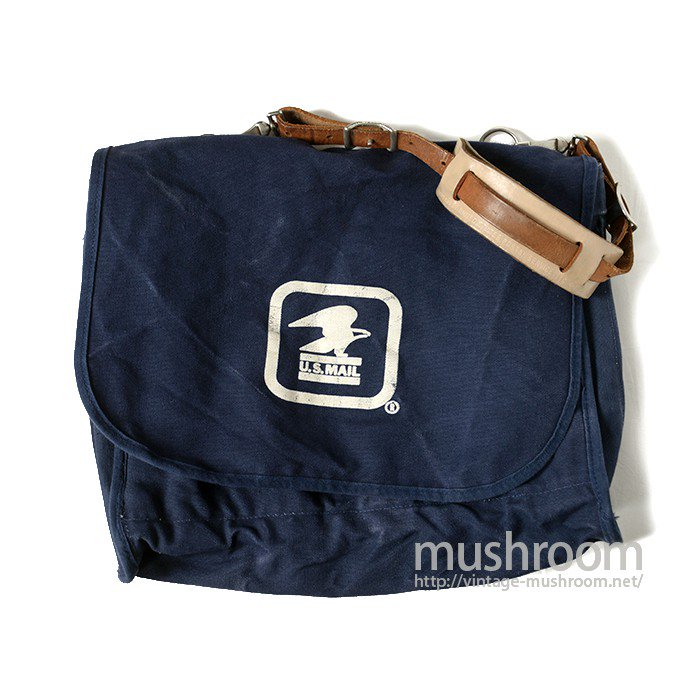 U.S.MAIL NAVY-BLUE CANVAS SHOULDER BAG