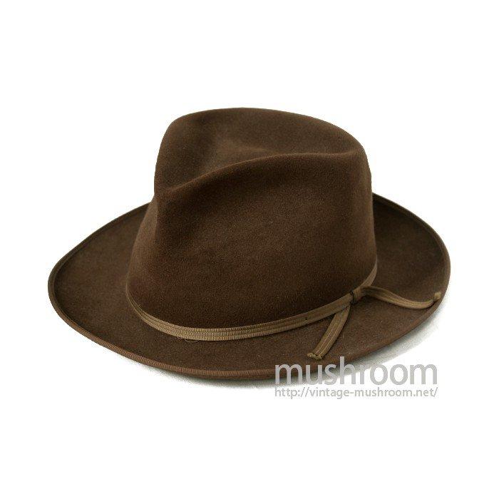 HERMAN'S BEAVER FELT HAT