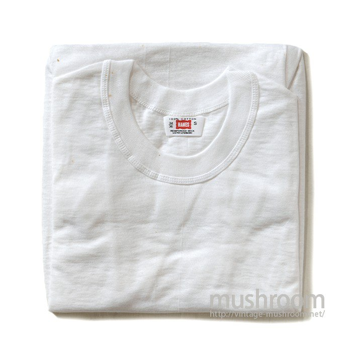 HANES PLAIN COTTON T-SHIRT( 1/DEADSTOCK )