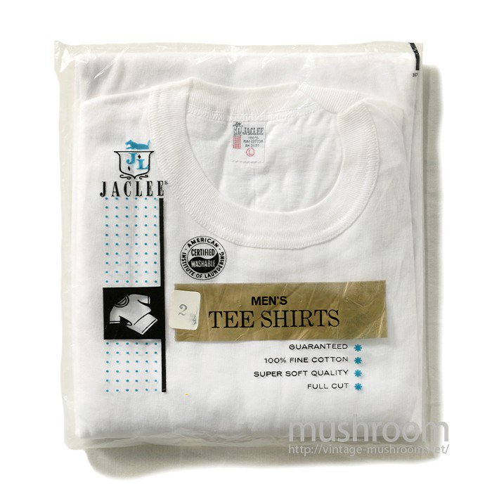 JACLEE PLAIN COTTON T-SHIRT( 2/DEADSTOCK )