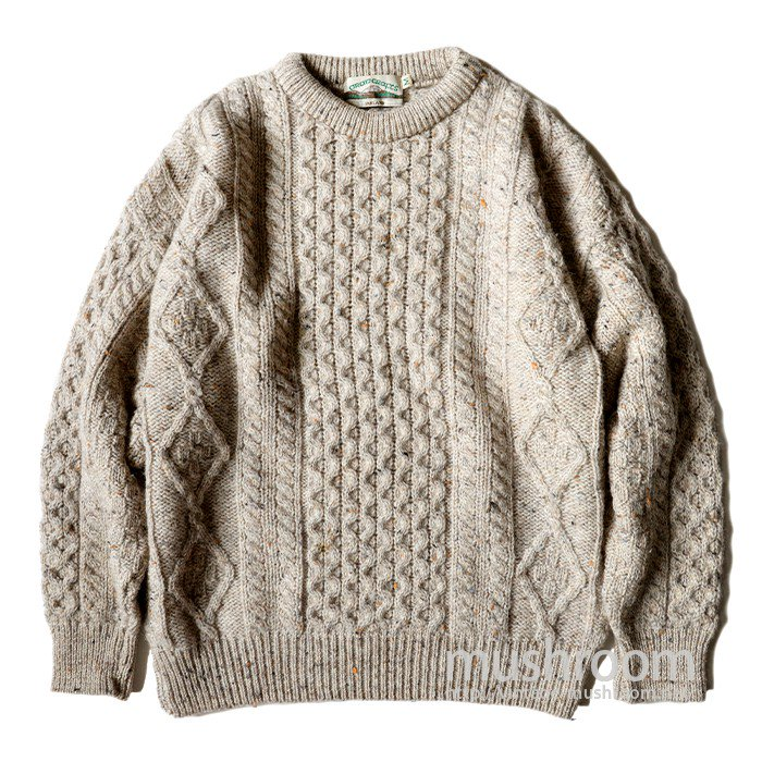 ARAN CRAFTS FISHERMAN SWEATER