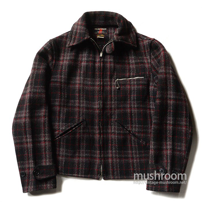 HERCULES PLAID WOOL SPORTS JACKET