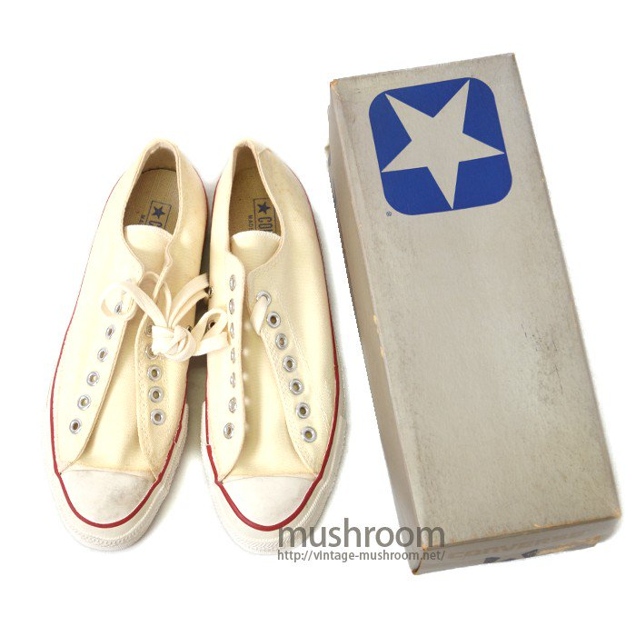 CONVERSE ALL-STAR LO CANVAS SHOES( DEADSTOCK )