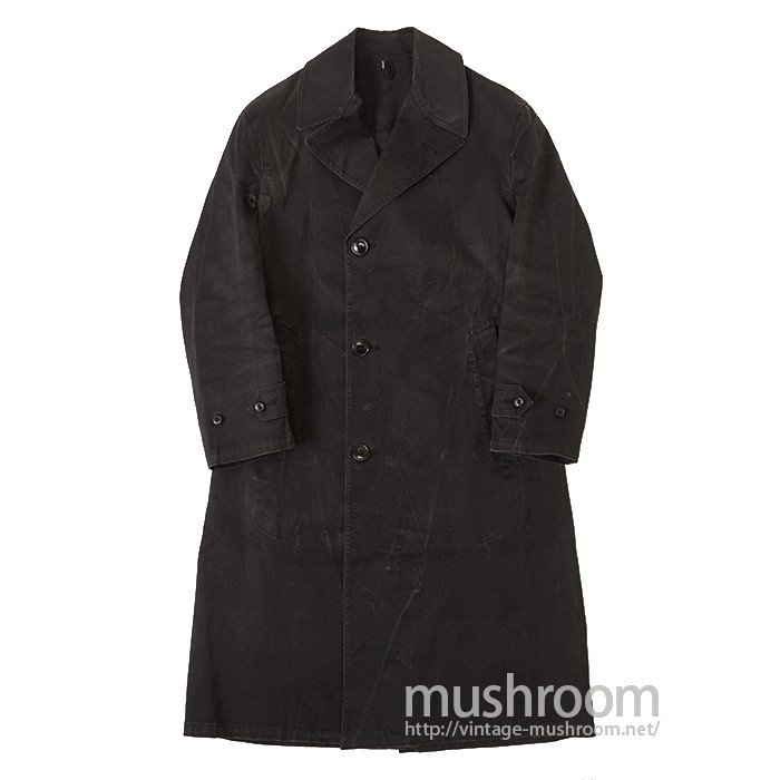 WW2 U.S.NAVY BLACK RAIN COAT