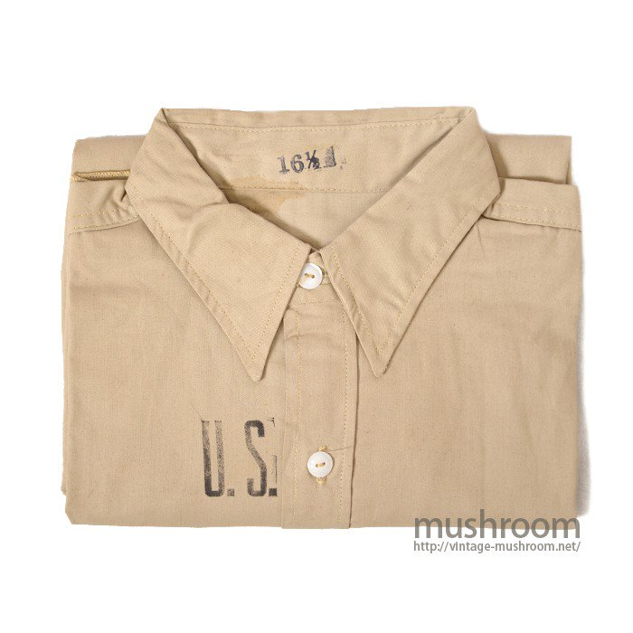 OLD TWO-TONE WORK SHIRT( DEADSTOCK )