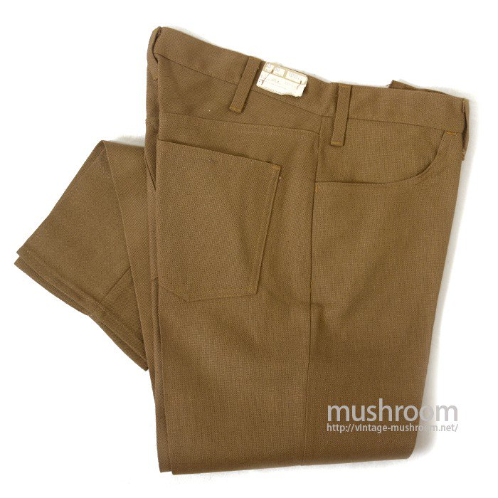 LEVI'S BIGE STA-PREST TAPERED PANTS( W33/DEADSTOCK )