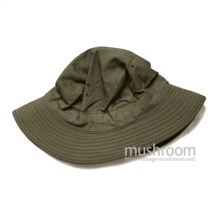 WW2 U.S.ARMY HBT HAT( DEADSTOCK )