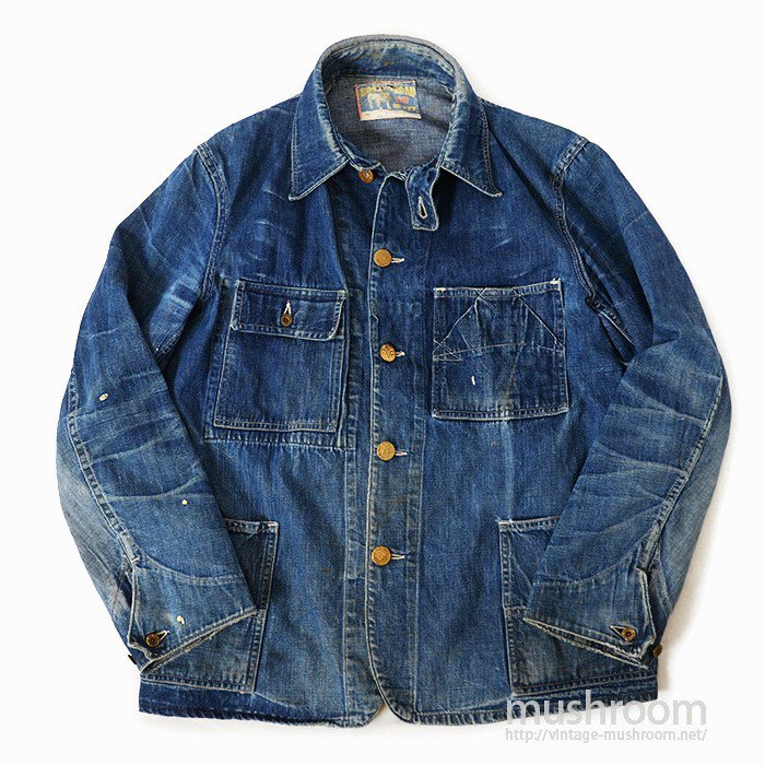 BOSS OF THE ROAD DENIM COVERALL