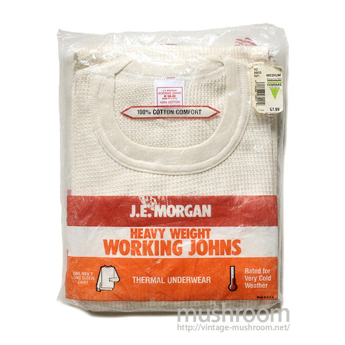 J.E.MORGAN THERMAL UNDERWEAR( DEADSTOCK )