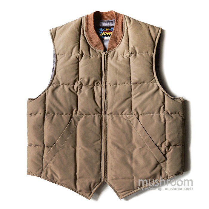 BAUER DOWN DOWN VEST( MINT )