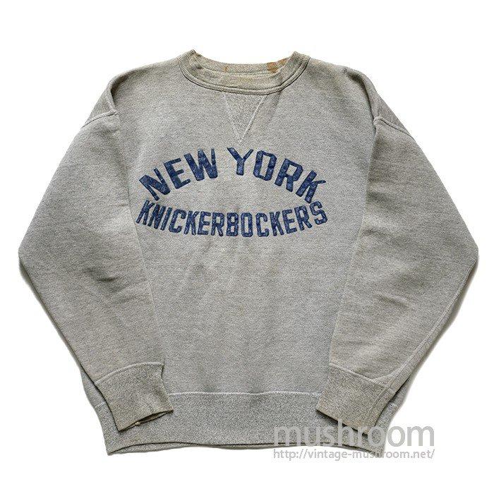 NY KNICKERBOCKERS SINGLE-V SWEAT SHIRT