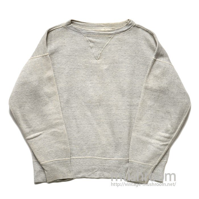 SINGLE-V SWEAT SHIRT WITH STENCIL