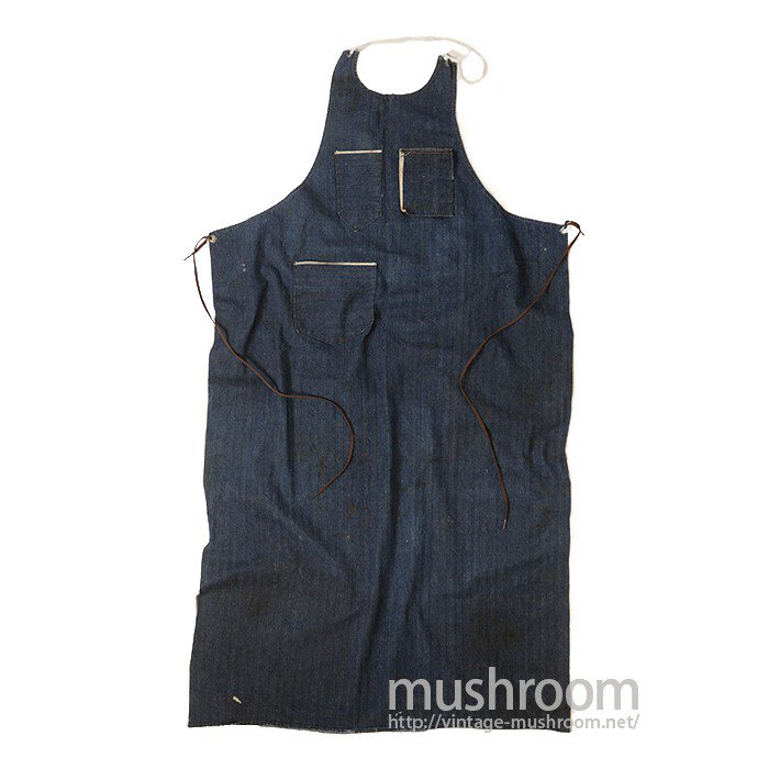 OLD HBT DENIM WORK APRON