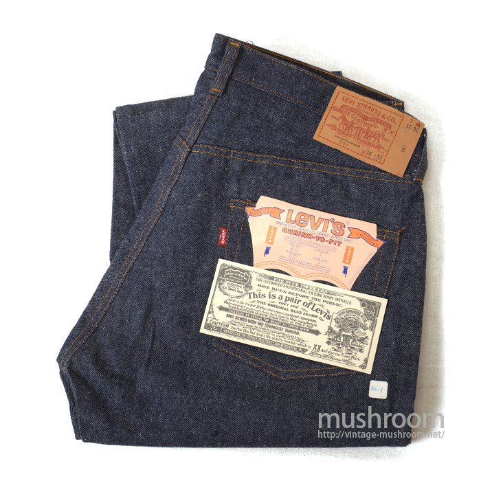 LEVI'S 501 RED LINE JEANS( W36/L31/DEADSTOCK )