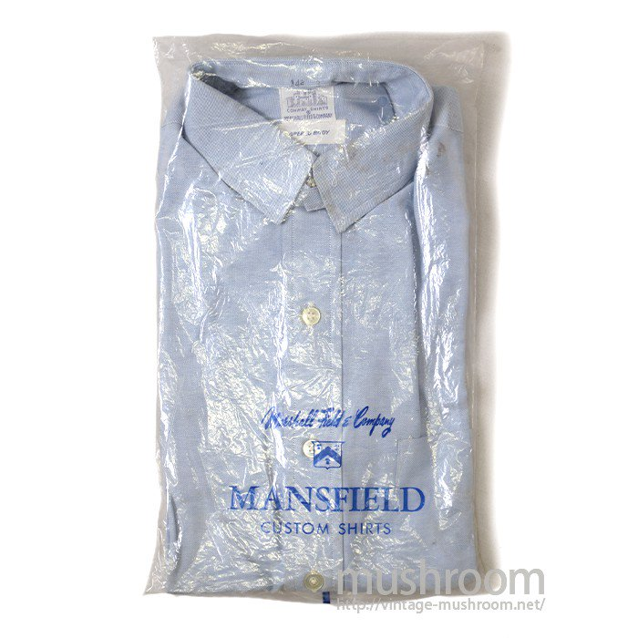 MARSHALL&COMPANY OXFORD SHIRT( DEADSTOCK )