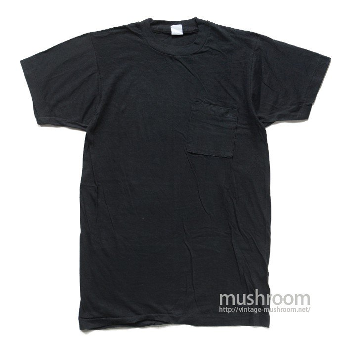 FRUIT OF THE LOOM COTTON POCKET T-SHIRT( DEADSTOCK )