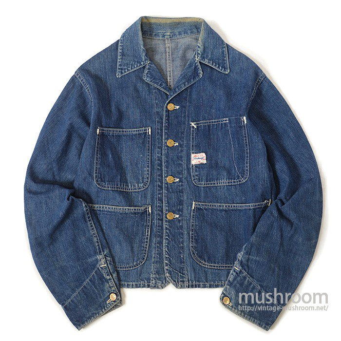 CARHARTT FOUR POCKET DENIM COVERALL