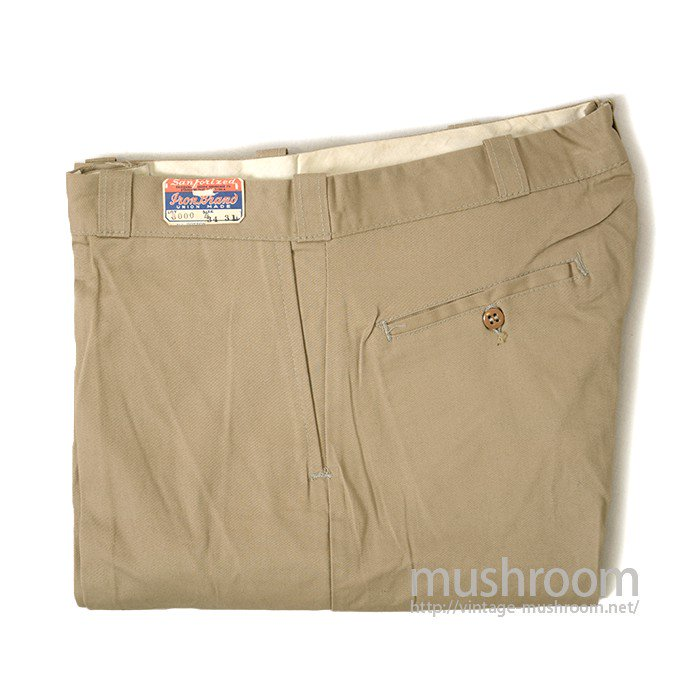 IRON BRAND WORK TROUSERS( DEADSTOCK )