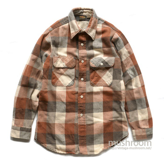 BIG YANK PLAID FLANNEL SHIRT