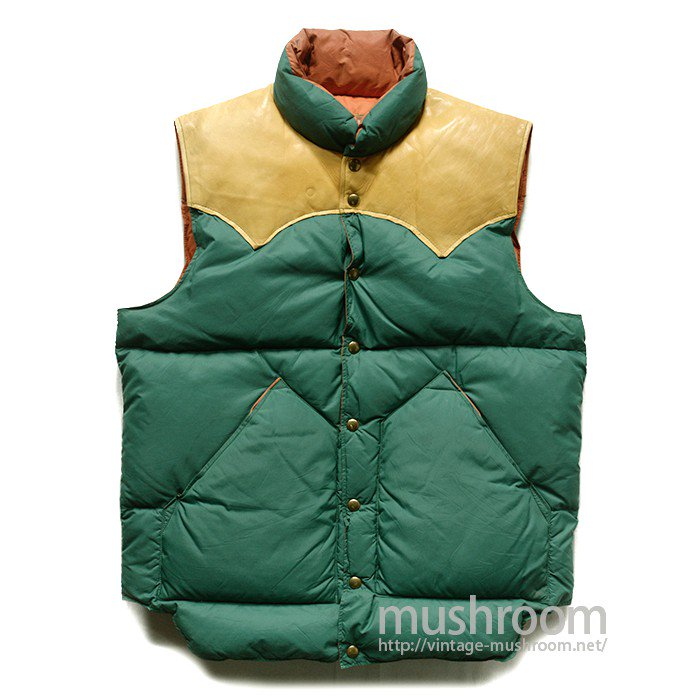 ROCKY MOUNTAIN DOWN VEST