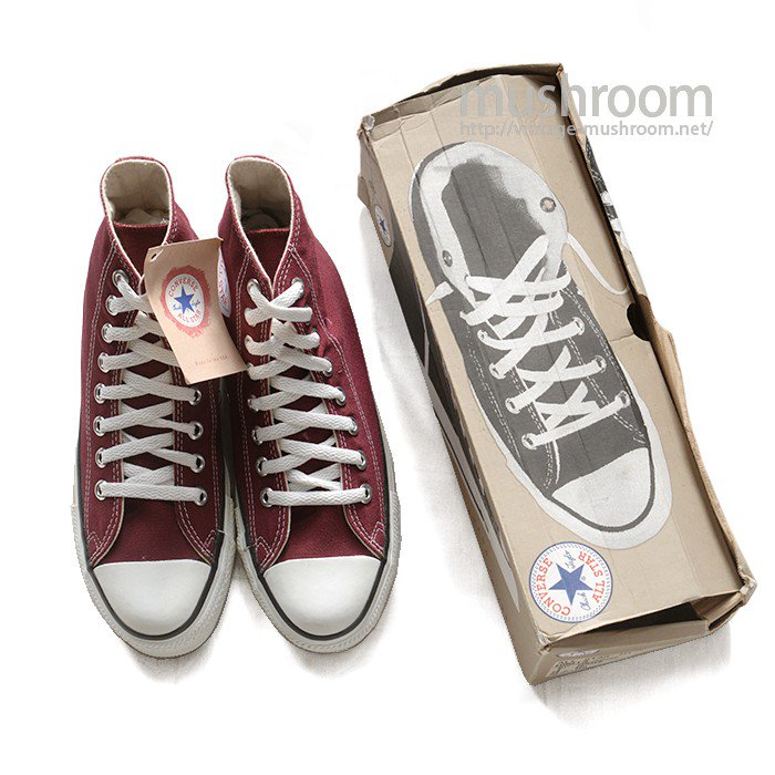 CONVERSE ALL-STAR HI CANVAS SHOES( DEADSTOCK )