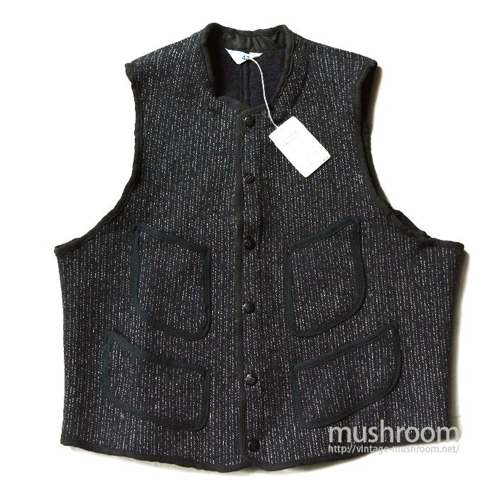 BROWN'S BEACH FOUR-POCKET WOOL VEST( DEADSTOCK )