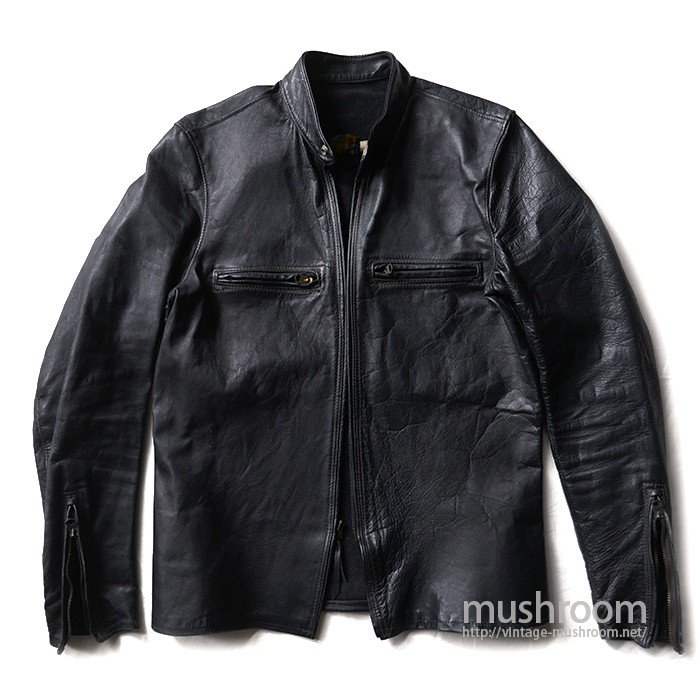BUCO-J100 CAFE LACER HORSEHIDE LEATHER JACKET( SUPER MINT )