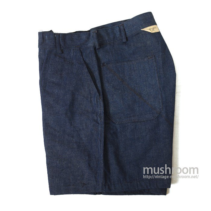 WW2 U.S.NAVY DUNGAREE DENIM TROUSER SHORTS( DEADSTOCK )