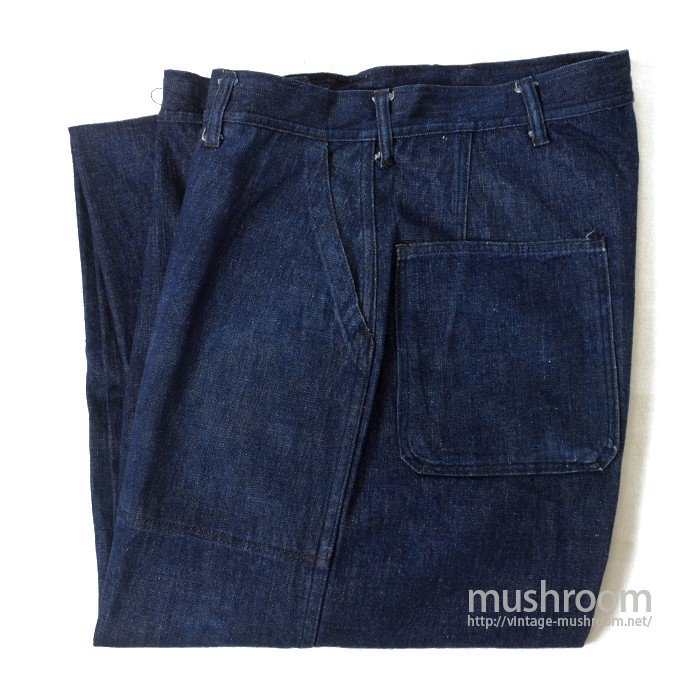 WW2 U.S.NAVY DUNGAREE DENIM TROUSER( MINT )