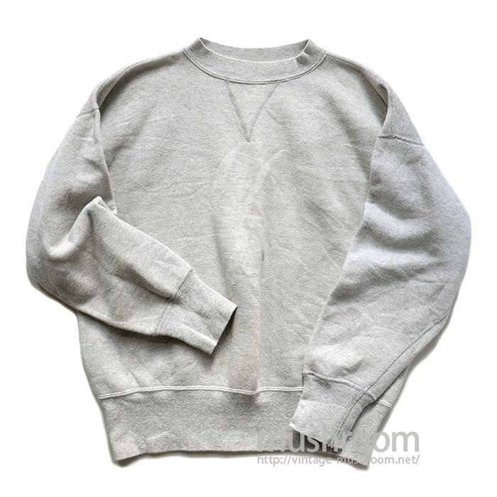 SINGLE-V PLAIN SWEAT SHIRT( MINT )