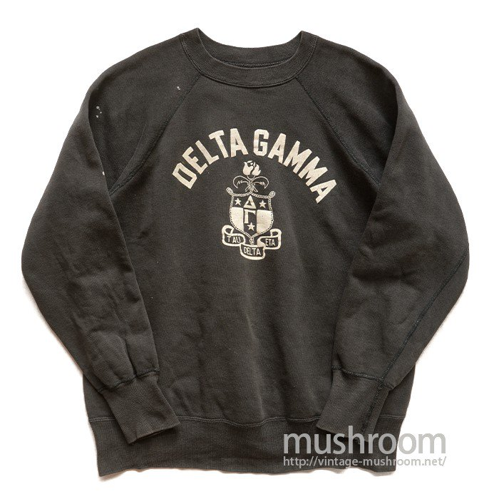 OLD COLLEGE SWEAT SHIRT( BLACK&WHITE )