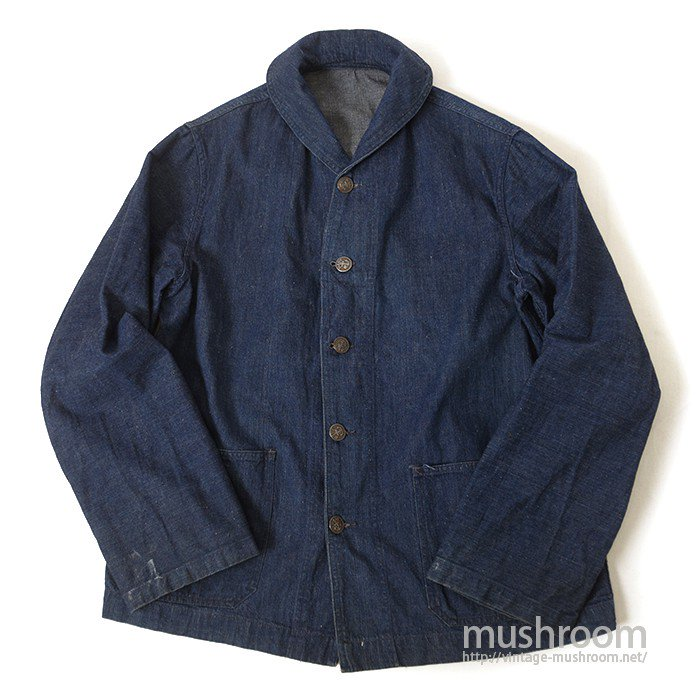 U.S.NAVY DUNGAREE DENIM JACKET( 1930's )